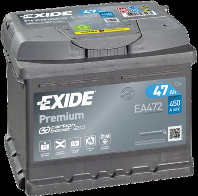 Baterie auto EXIDE EA472 12V 47AH, 450A