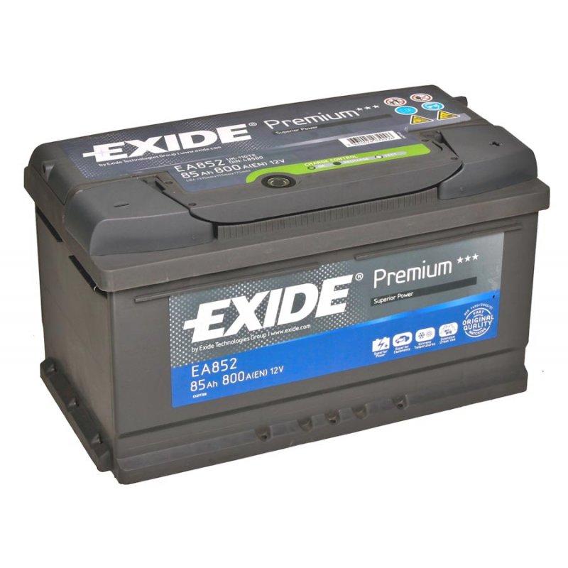 Baterie auto EXIDE EA852 Premium 12V 85AH, 800A