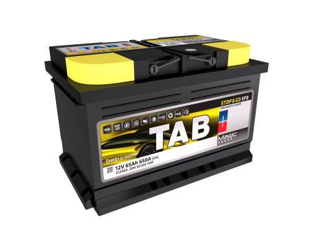 Baterie auto TAB MAGIC EFB START-STOP 12V 65AH, 650A