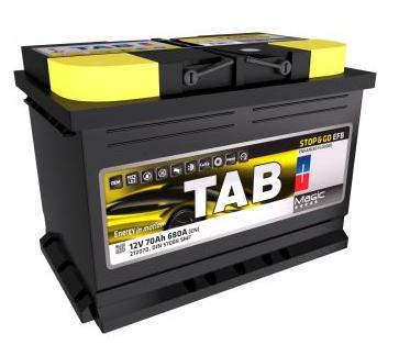 Baterie auto TAB MAGIC EFB START-STOP 12V 70AH, 680A