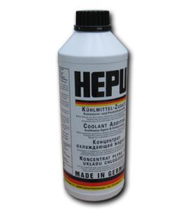 Antigel concentrat HEPU universal Albastru G11 1,5L