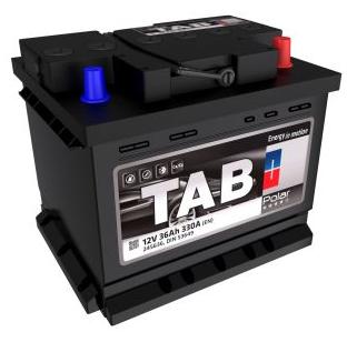 Baterie auto TAB POLAR 12V 55AH, 500A
