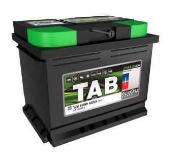 Baterie auto TAB ECODRY 12V 60Ah, 680A