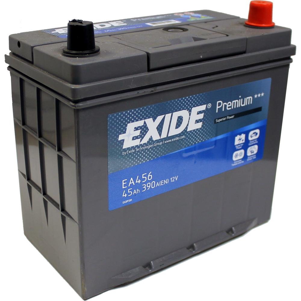 Baterie auto EXIDE EA456 PREMIUM 12V 45AH, 390A