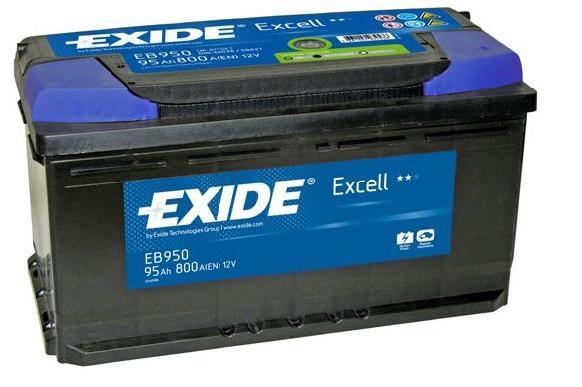 Baterie auto EXIDE EB950 EXCELL 12V 95AH, 800A