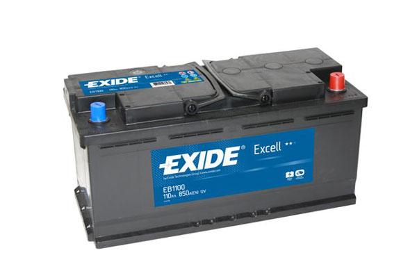 Baterie auto EXIDE EB1100 EXCELL 12V 110AH, 850A