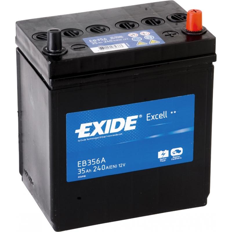Baterie auto EXIDE EB356A EXCELL 12V 35AH, 240A