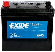 Baterie auto EXIDE EB605 EXCELL 12V 60AH, 390A