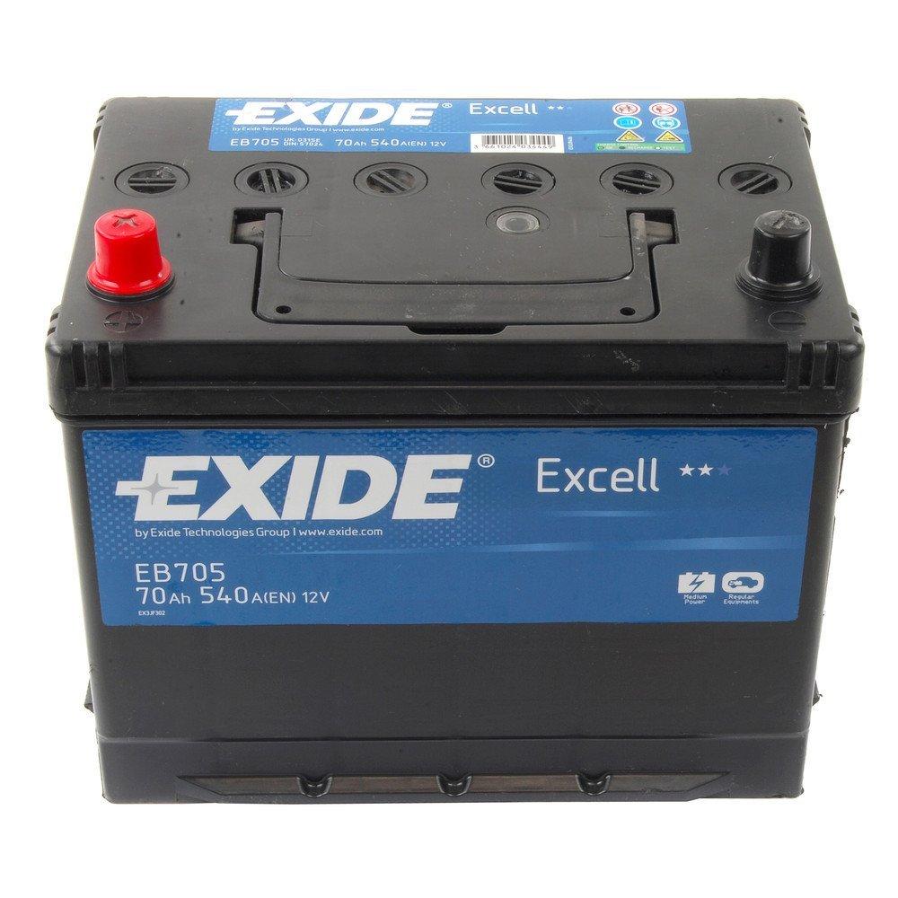 Baterie auto EXIDE EB705 EXCELL 12V 70AH, 540A