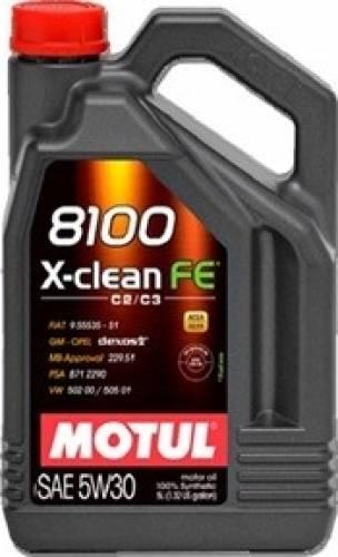 ULEI MOTOR MOTUL 8100 X-CLEAN FE 5W30 4L