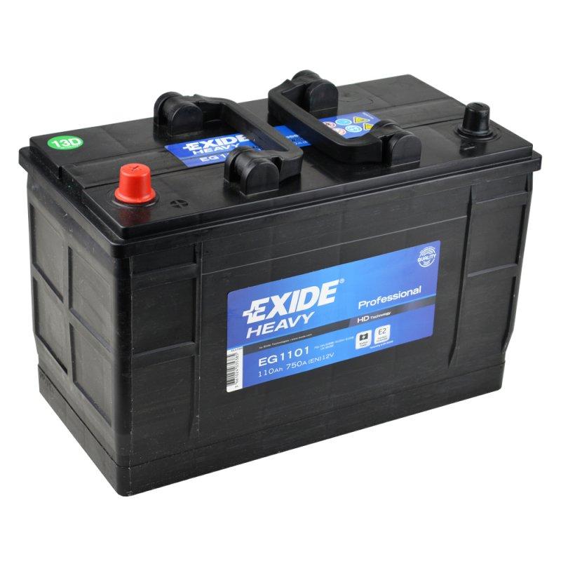 Baterie auto EXIDE EG1101 PROFESSIONAL 12V 110AH, 750A