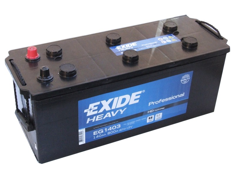Baterie auto EXIDE EG1403 PROFESSIONAL 12V 140AH, 800A