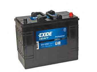 Baterie auto EXIDE EG1250 PROFESSIONAL 12V 125AH, 760A