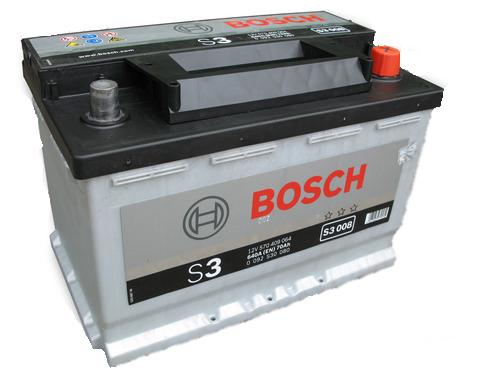 Baterie auto BOSCH S3 0092S30080 12V 70Ah 640A