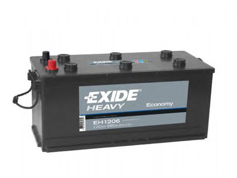 Baterie auto EXIDE EH1206 ECONOMY 12V 120AH, 680A