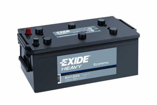 Baterie auto EXIDE EH1203 ECONOMY 12V 120AH, 680A