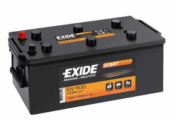 Baterie auto EXIDE EN1100 START 12V 180AH, 1000A