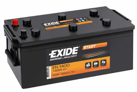 Baterie auto EXIDE START EN1400 12V 225AH, 1300A