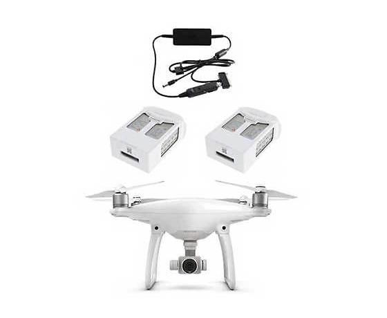 Pachet drona 4K, incarcator, 2 baterii DJI Phantom 4