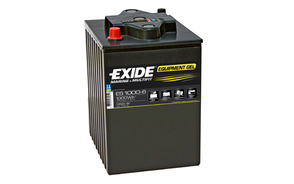 Baterie auto EXIDE ES1000-6 EQUIPMENT GEL 6V 190AH, 750A