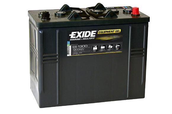 Baterie auto EXIDE ES1300 EQUIPMENT GEL 12V 120AH, 750A