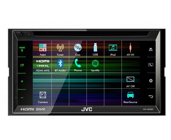Sistem multimedia 6.8 JVC KWV620BT