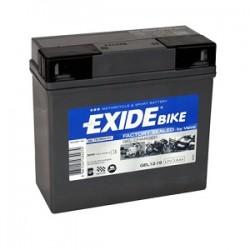Baterie motocicleta EXIDE EBG12-19 GEL 12V 19AH, 170A