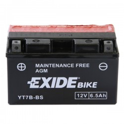 Baterie motocicleta EXIDE EBYT7B-BS MAINTENANCE FREE 12V 6.5AH, 85A
