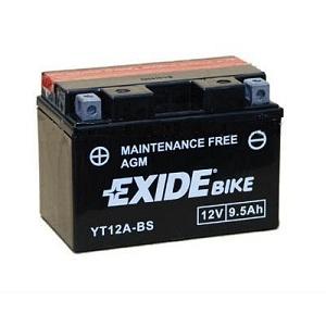Baterie motocicleta EXIDE EBYT12A-BS MAINTENANCE FREE 12V 9.5AH, 130A