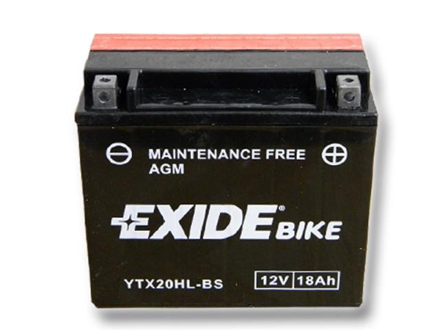 Baterie motocicleta EXIDE EBYTX20HL-BS MAINTENANCE FREE 12V 18AH, 270A