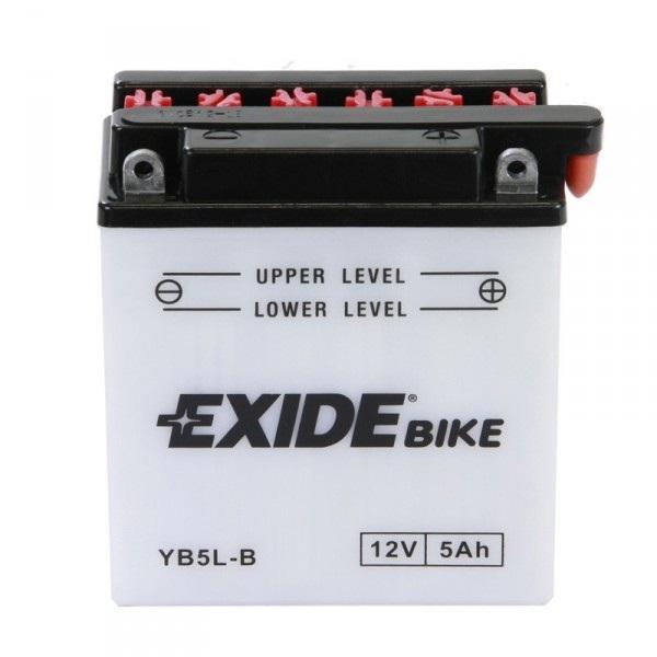 Baterie motocicleta EXIDE EBYB5L-B CONVENTIONAL 12V 5AH, 65A