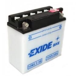 Baterie motocicleta EXIDE EB12N5.5-3B CONVENTIONAL 12V 5.5AH, 60A