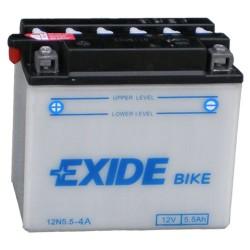 Baterie motocicleta EXIDE EB12N5.5-4A CONVENTIONAL 12V 5.5AH, 60A