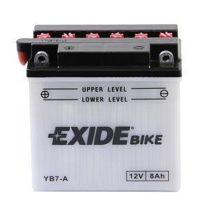 Baterie motocicleta EXIDE EBYB7-A CONVENTIONAL 12V 8AH, 85A