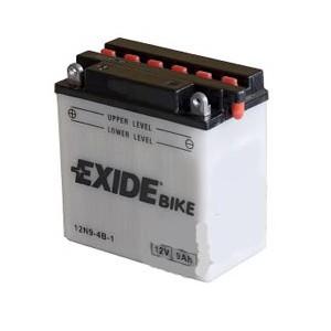Baterie motocicleta EXIDE EB12N9-4B-1 CONVENTIONAL 12V 9AH, 90A