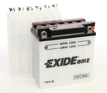 Baterie motocicleta EXIDE EBYB9-B CONVENTIONAL 12V 9AH, 100A