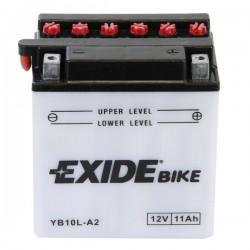 Baterie motocicleta EXIDE EBYB10L-A2 CONVENTIONAL 12V 11AH, 130A