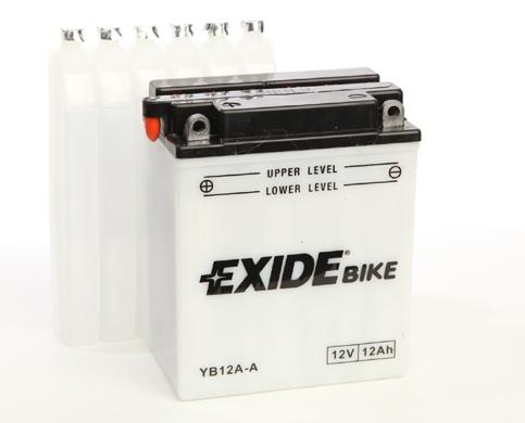 Baterie motocicleta EXIDE EBYB12A-A CONVENTIONAL 12V 12AH, 165A