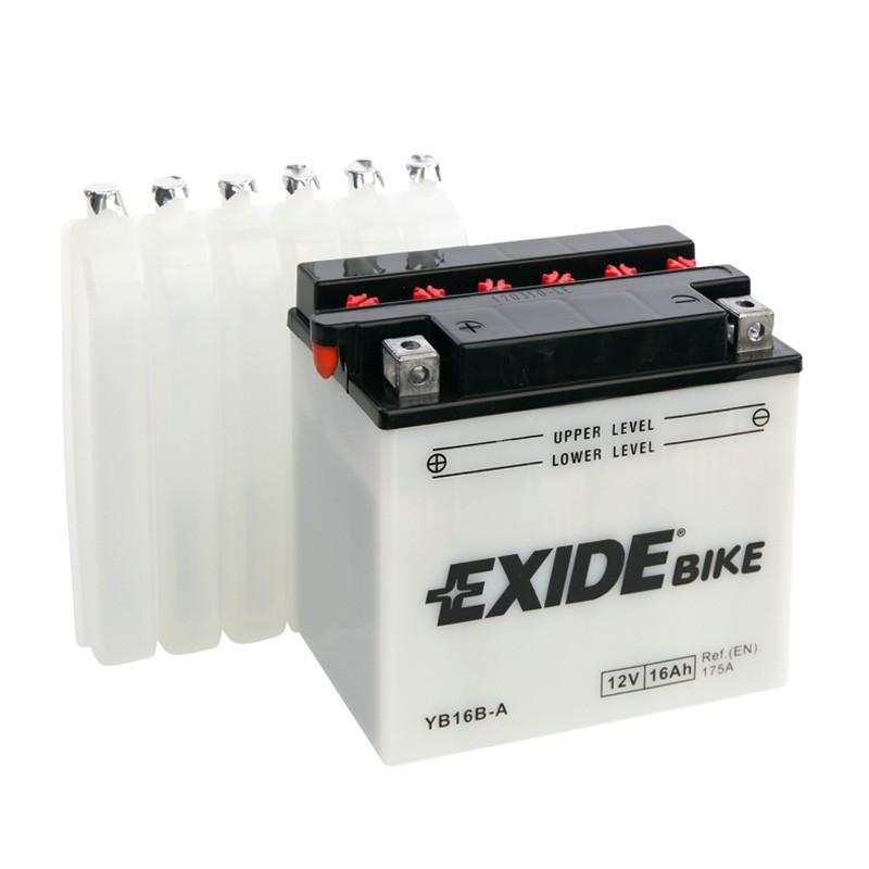 Baterie motocicleta EBYB16B-A EXIDE CONVENTIONAL 12V 16AH, 175A