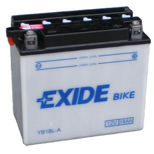 Baterie motocicleta EXIDE EBYB18L-A CONVENTIONAL 12V 18AH, 190A