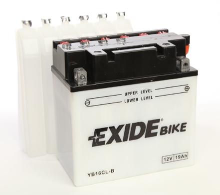 Baterie motocicleta EXIDE EBYB16CL-B CONVENTIONAL 12V 19AH, 190A