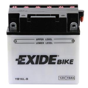 Baterie motocicleta EXIDE EBYB16L-B CONVENTIONAL 12V 19AH, 190A