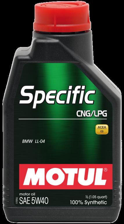 ULEI MOTOR MOTUL SPECIFIC CNG/LPG 5W40 1L