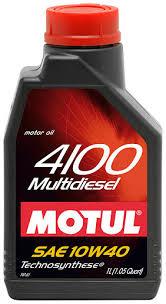 ULEI MOTOR MOTUL 4100 MULTIDIESEL 10W40 1L