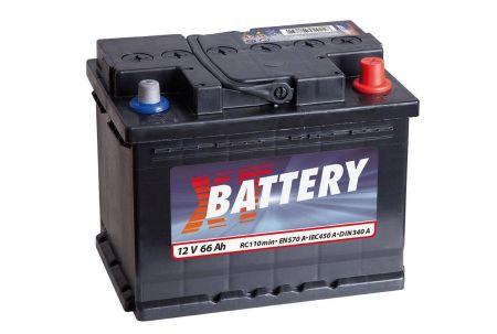 Baterie auto XT Classic 12V 66Ah, 600A