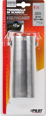 Ornament toba esapament LAMPA T-1 otel inoxidabil 35-62mm