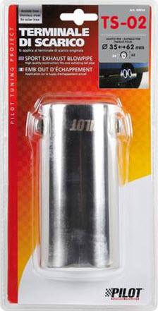 Ornament toba esapament LAMPA TS-02 otel inoxidabil 35-62mm
