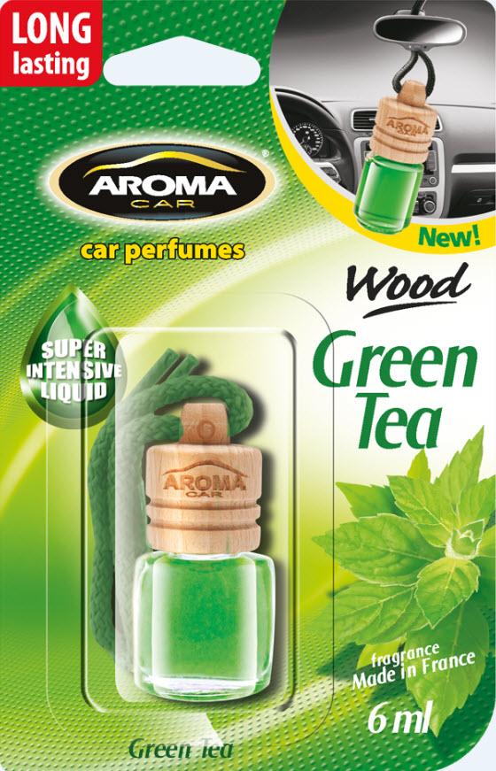 ODORIZANT MTM Aroma Car Wood Green Tea 6ml