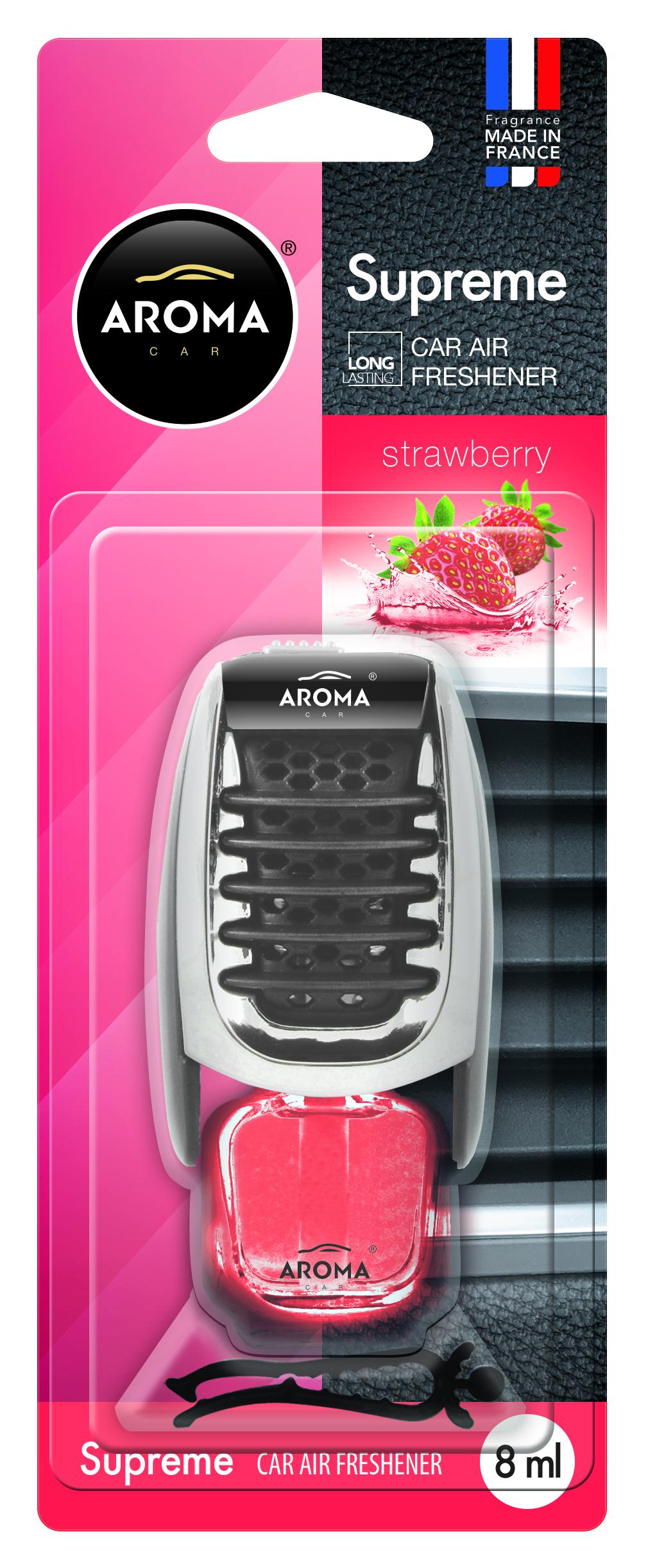 ODORIZANT MTM Aroma Car Supreme Slim Strawberry 8ml