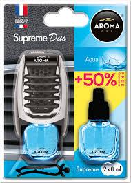 ODORIZANT MTM Aroma Car Supreme Duo2 x aqua 8ml